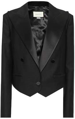 Gucci Wool and mohair blazer