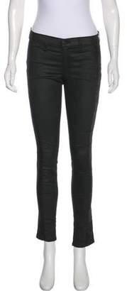 Rag & Bone Mid-Rise Skinny-Leg Pants