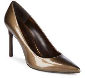 Stuart Weitzman Heist Patent Leather Point Toe Pumps