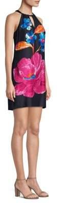 Trina Turk Roe Halter Shift Dress