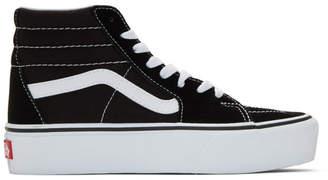 Vans Black Sk8-Hi Platform Sneakers