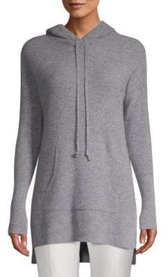 Saks Fifth Avenue Cashmere Waffle-Knit Hoodie