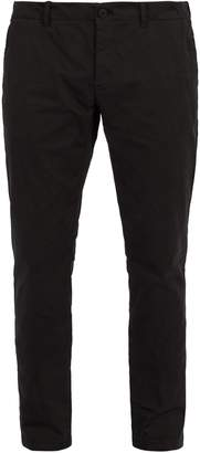 Tomas Maier Peach cotton-blend trousers