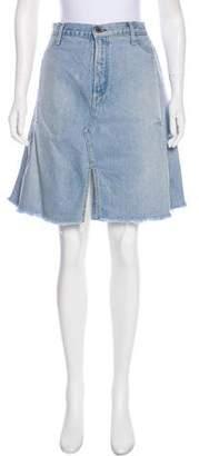 Simon Miller Distressed Denim Skirt w/ Tags