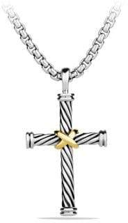David Yurman Cable Classics Cross Pendant