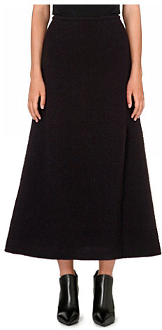 J.W.Anderson Flared wool maxi skirt