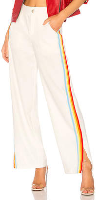 Central Park West Sandy Lane Striped Pant