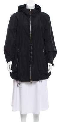 Moncler Hooded Maquereau Coat