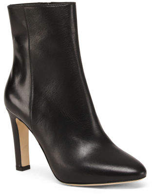 Made In Italy Leather Dress Boots