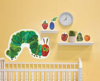 Oopsy Daisy Fine Art For Kids 28 by 35-Inch Peel and Place Eric Carle's The Very Hungry Caterpillar by Eric Carle, Small