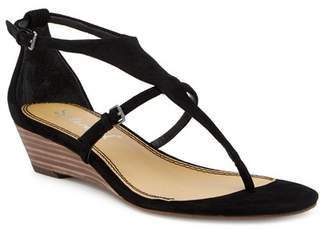 Splendid Brooklyn V-Strap Wedge Sandal