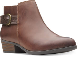 Clarks Collection Women's Addiy Kara Booties Women's Shoes