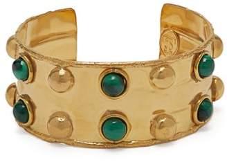 Sylvia Toledano - Stone Massai Ii Malachite Embellished Cuff - Womens - Green
