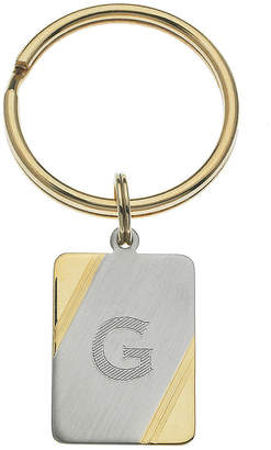 Asstd National Brand Personalized Two-Tone Key Ring