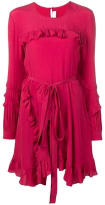IRO ruffle detail dress
