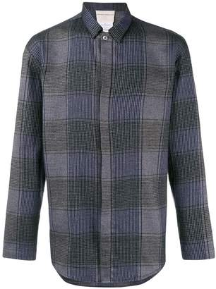 Stephan Schneider oversized check shirt