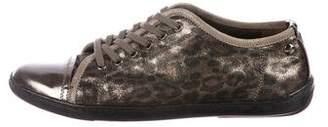 AGL Leopard Low-Top Sneakers