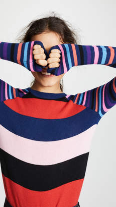 Replica Los Angeles Striped Long Sleeve Cashmere Tee