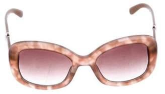 Salvatore Ferragamo Oversize Gradient Sunglasses