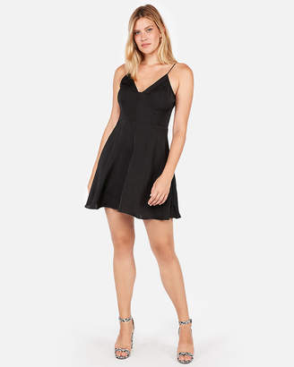 Express Fit And Flare Cami Mini Dress