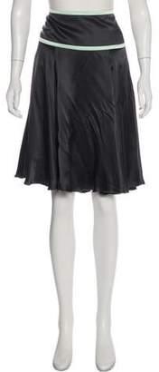 Salvatore Ferragamo Silk Knee-Length Skirt