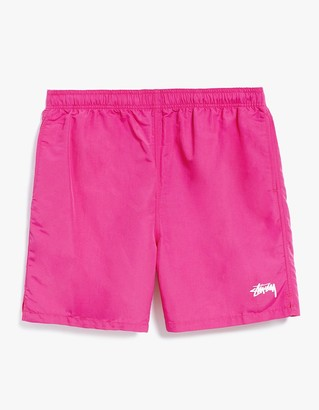 Stock Elastic Waist Short II in Raspberry $55 thestylecure.com