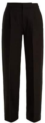 Jacquemus - Le Grand Pantalon Wide Leg Wool Trousers - Womens - Black