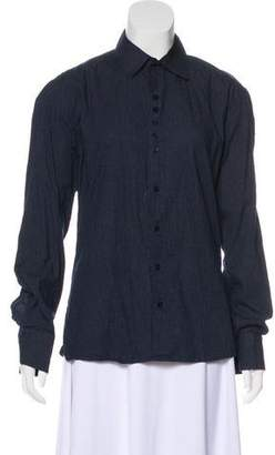 DSQUARED2 Polka Dot Button-Up Top