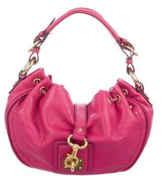 Marc Jacobs Leather Clasp Hobo