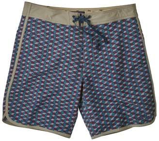 "Patagonia Men's Scallop Hem Stretch Wavefarer® Boardshorts - 18"""