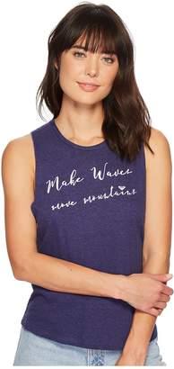 Roxy Make Waves Muscle Tank Top Women's Sleeveless