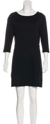 Rag & Bone Long-Sleeve Mini Dress
