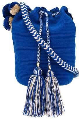 Soraya Hennessy Mochila woven bucket bag