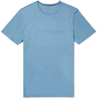 Outerknown Stencil Slim-Fit Printed Organic Cotton-Jersey T-Shirt