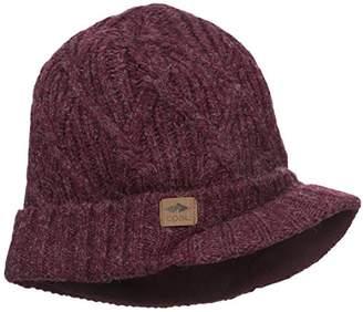 Coal Men's The Yukon Brim Chunky Knit Warm Beanie Hat
