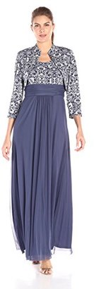 Jessica Howard Women's Two-Piece Jacket and Long Dress $128.99 thestylecure.com