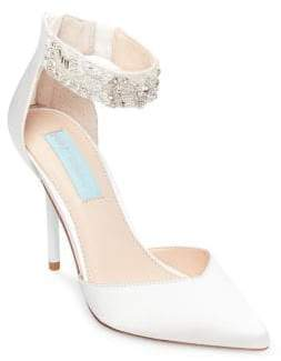 Betsey Johnson Blue by Betsey Ankle Strap Pump