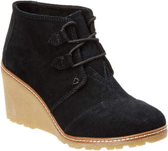 Toms Women's Desert Wedge Bootie