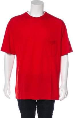 Hermes Embroidered Short Sleeve T-Shirt