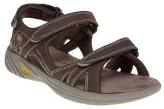 Hi-Tec New Womens Brown V-Lite Walk-Lite Synthetic Sandals Sports Straps