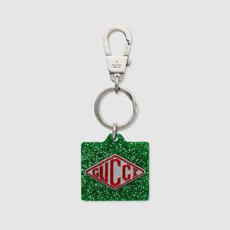Gucci game tag keychain