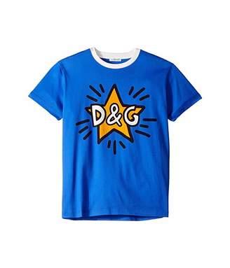 Dolce & Gabbana Star T-Shirt (Toddler/Little Kids/Big Kids)