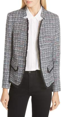 Helene Berman Notch Collar Tweed Jacket