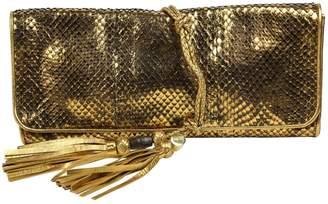 Gucci Snakeskin clutch bag