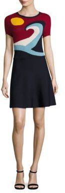 RED Valentino Beach Knit Dress $695 thestylecure.com