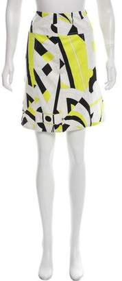 Emilio Pucci Knee-Length Printed Skirt