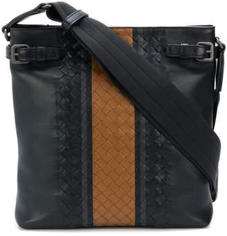 Bottega Veneta nero vialinea calf backpack