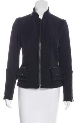 Magaschoni Long Sleeve Zip-Up Jacket