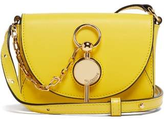 J.W.Anderson Nano Keyts Leather Cross Body Bag - Womens - Yellow