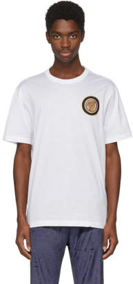 Versace White Greek Lady T-Shirt